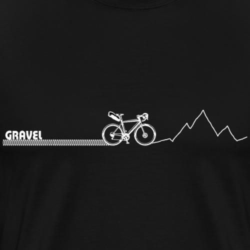 Gravel Cintre Tordu - T-shirt Premium Homme