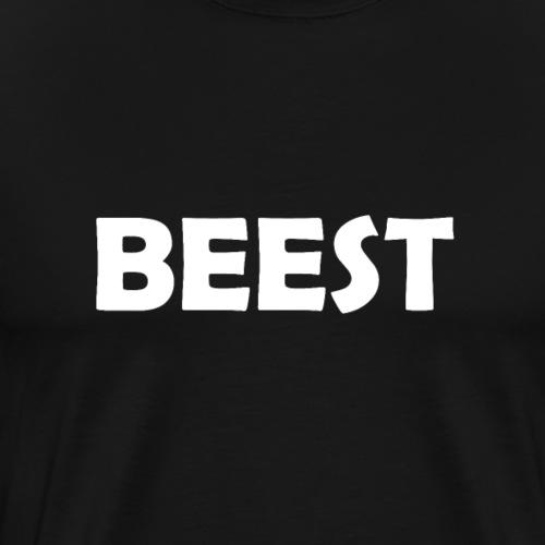 Beest Quote - Mannen Premium T-shirt