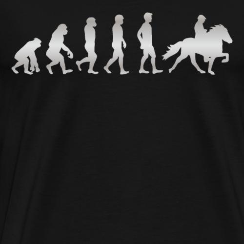 It's just Evolution - REITEN! - Männer Premium T-Shirt