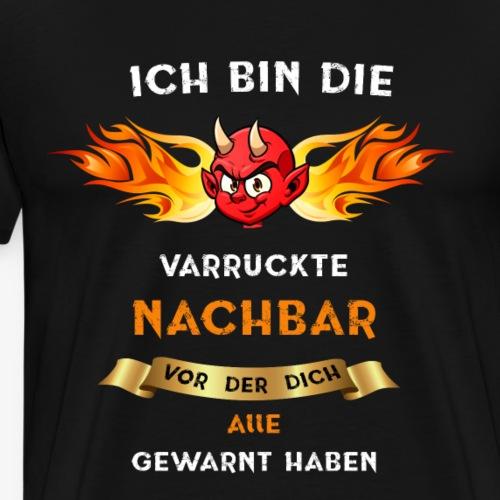 Nachbar Teufel - Männer Premium T-Shirt