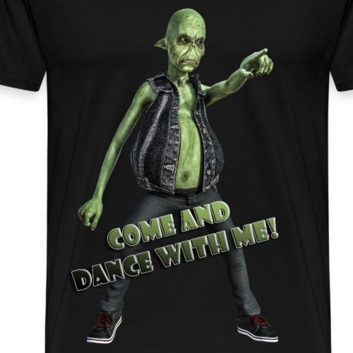 Paul - The Alien - Dance with me! - Männer Premium T-Shirt