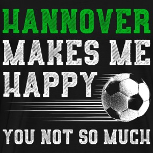 MAKES ME HAPPY Hannover - Männer Premium T-Shirt