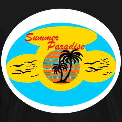 Summer Paradise - Männer Premium T-Shirt