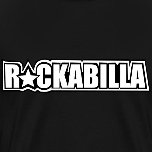 Basic Black & White - Männer Premium T-Shirt