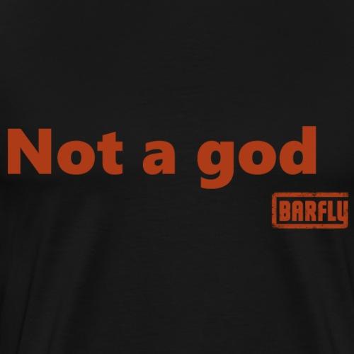 The Cage - Not a god - Männer Premium T-Shirt