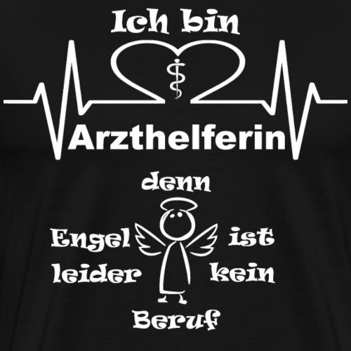 ArzthelferinEngel - Männer Premium T-Shirt