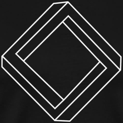 unmögliches_Quadrat - Männer Premium T-Shirt