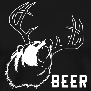 Bear grappige Beer - Mannen Premium T-shirt