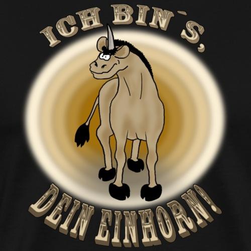 Sexy Einhorn - Männer Premium T-Shirt