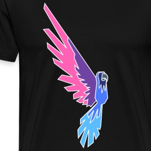 Papagei - Conner Conure Negativ - Männer Premium T-Shirt