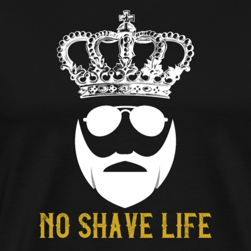No Shave Life - Männer Premium T-Shirt
