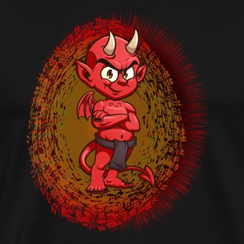 Halloween Devil - Männer Premium T-Shirt