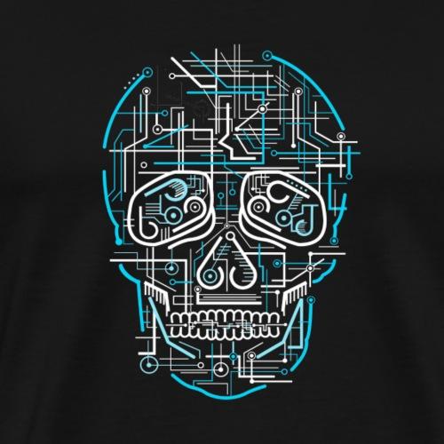 electric skull tshirt ✅ - Men's Premium T-Shirt