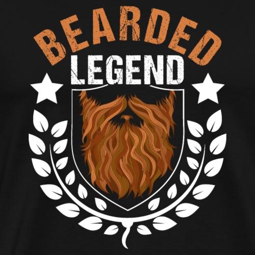 Bearded Legend - Männer Premium T-Shirt