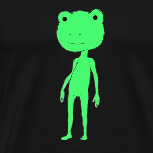 the frog style - Maglietta Premium da uomo