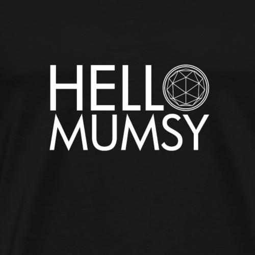 Hello Crystal Mumsy - Men's Premium T-Shirt