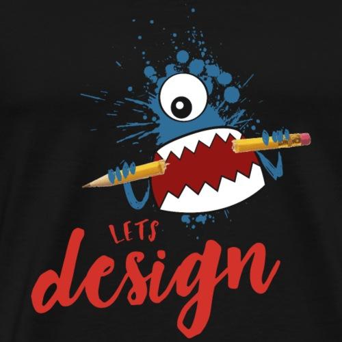ld text bild - Männer Premium T-Shirt