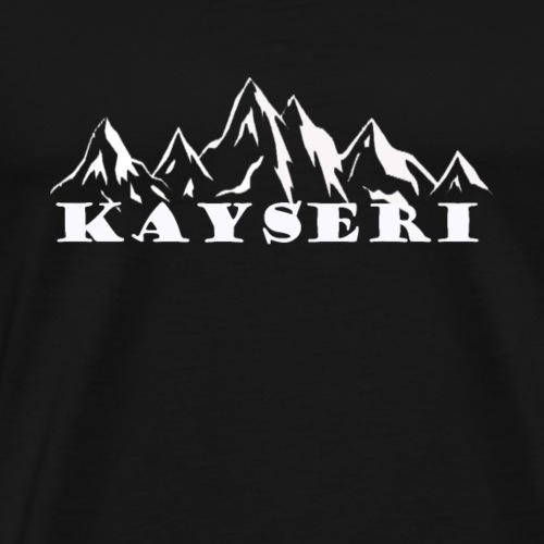 Kayseri erciyes - Männer Premium T-Shirt