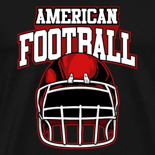 Cool American Football Sport Helm Fan Shirts|NaKos - Männer Premium T-Shirt