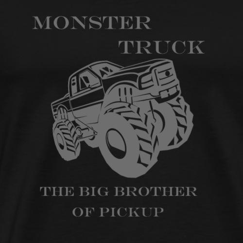 Monster Truck the big Brother of Pickup - Männer Premium T-Shirt