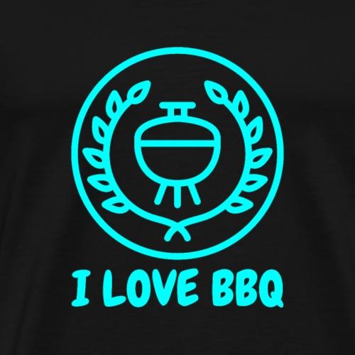 I Love BBQ - Männer Premium T-Shirt