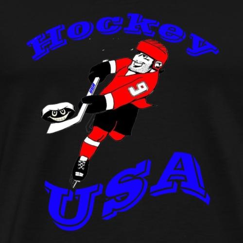 Hockey USA - Männer Premium T-Shirt