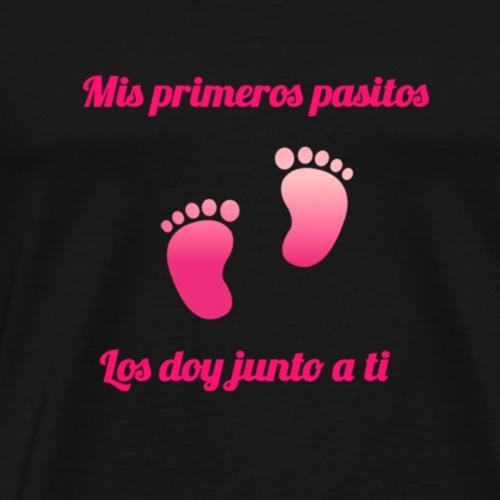 Mis primeros pasos - Camiseta premium hombre