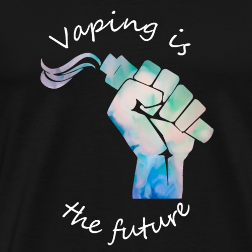 Vaping (F)is(st) the future - Männer Premium T-Shirt