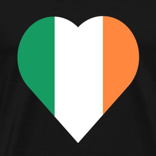 Ireland Love heart - Men's Premium T-Shirt