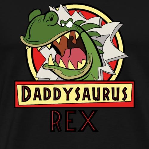 Daddysaurus Rex T Shirt - Männer Premium T-Shirt