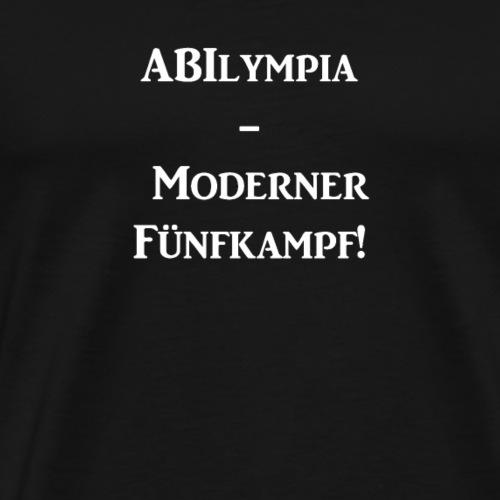 ABIlympia Moderner Fuenfkampf - Männer Premium T-Shirt