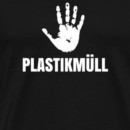 Stopp Plastikmuell - Geschenk - Männer Premium T-Shirt