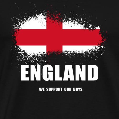 ENGLAND football supporter Shirt - Men's Premium T-Shirt