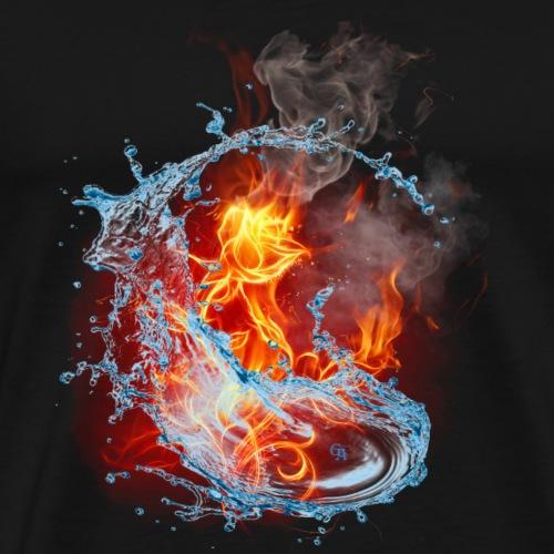 firerose - Männer Premium T-Shirt