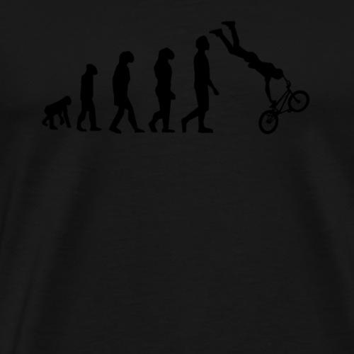 bicycle Evolotion schwarz MTB BMX Fahrrad - Männer Premium T-Shirt