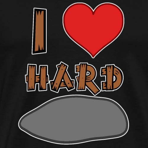 Hard Rock Metal Musik - Männer Premium T-Shirt