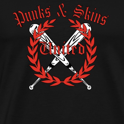 Punks und Skins united! Lorbeerkranz Oi Ska Shirt - Männer Premium T-Shirt