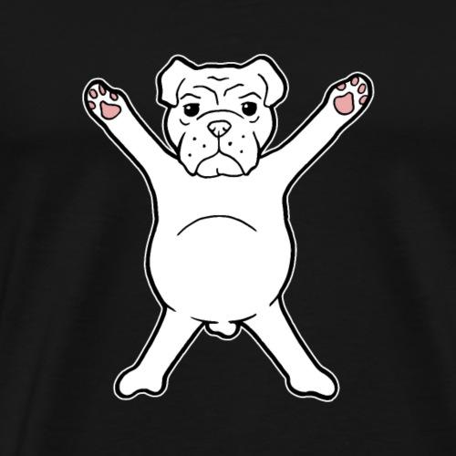 Bulldog Bully Bulldogge Hund Geschenk - Männer Premium T-Shirt