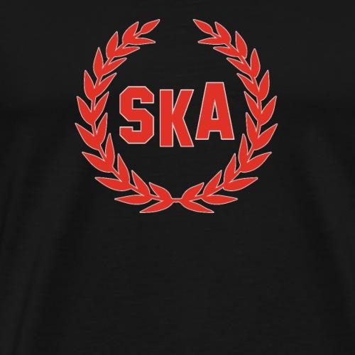 SKA Musik Lorbeerkranz skinhead - Männer Premium T-Shirt