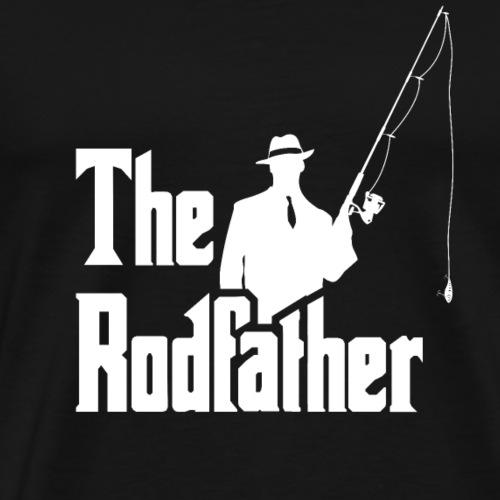 The Rodfather. Funny Fishing Tshirt for Fisherman - Camiseta premium hombre