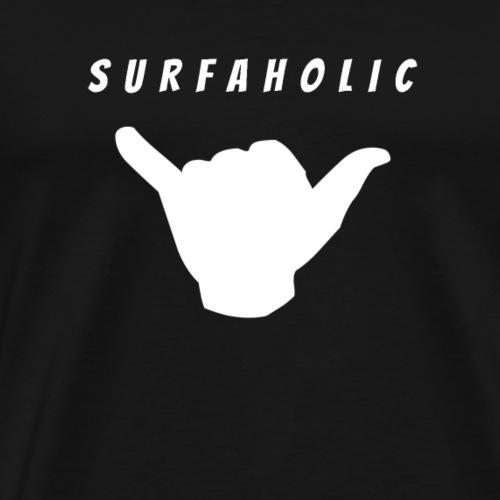 Surfer-Shirt Shaka Surfaholic - Männer Premium T-Shirt