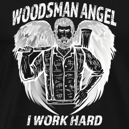 Holzfäller Engel T-Shirt - Männer Premium T-Shirt