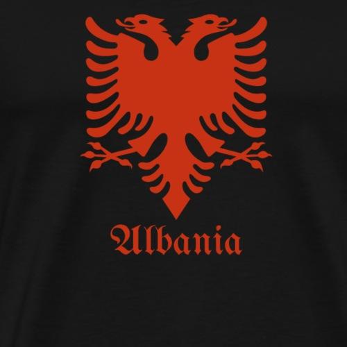 Albanian Eagle Albanischer Adler Flagge - Männer Premium T-Shirt