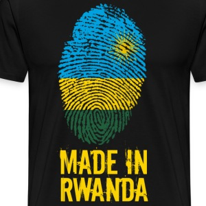 Made In Rwanda / Rwanda / le Rwanda - Premium T-skjorte for menn