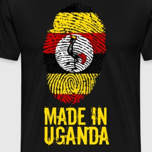 Made In Uganda - Premium-T-shirt herr