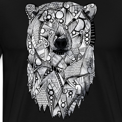 Isbjørn - Premium T-skjorte for menn
