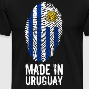 Made In Uruguay - Herre premium T-shirt
