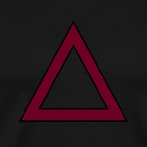 TRIANGLE SWAG - Premium T-skjorte for menn