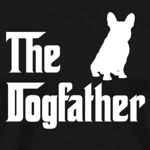 Den Dogfather - Herre premium T-shirt