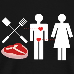 Grill Love - Men's Premium T-Shirt